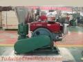 Maquina Meelko para pellets con madera 200 mm diesel 80-120 kg/h - MKFD200A
