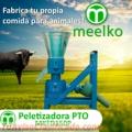 Peletizadora Meelko 150mm 8hp PTO para concentrados balanceados 80-130kg - MKFD150P.