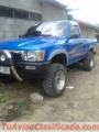Vendo camioneta Toyota 22R de doble