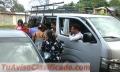 Rento Microbus Toyota Hiace con chofer